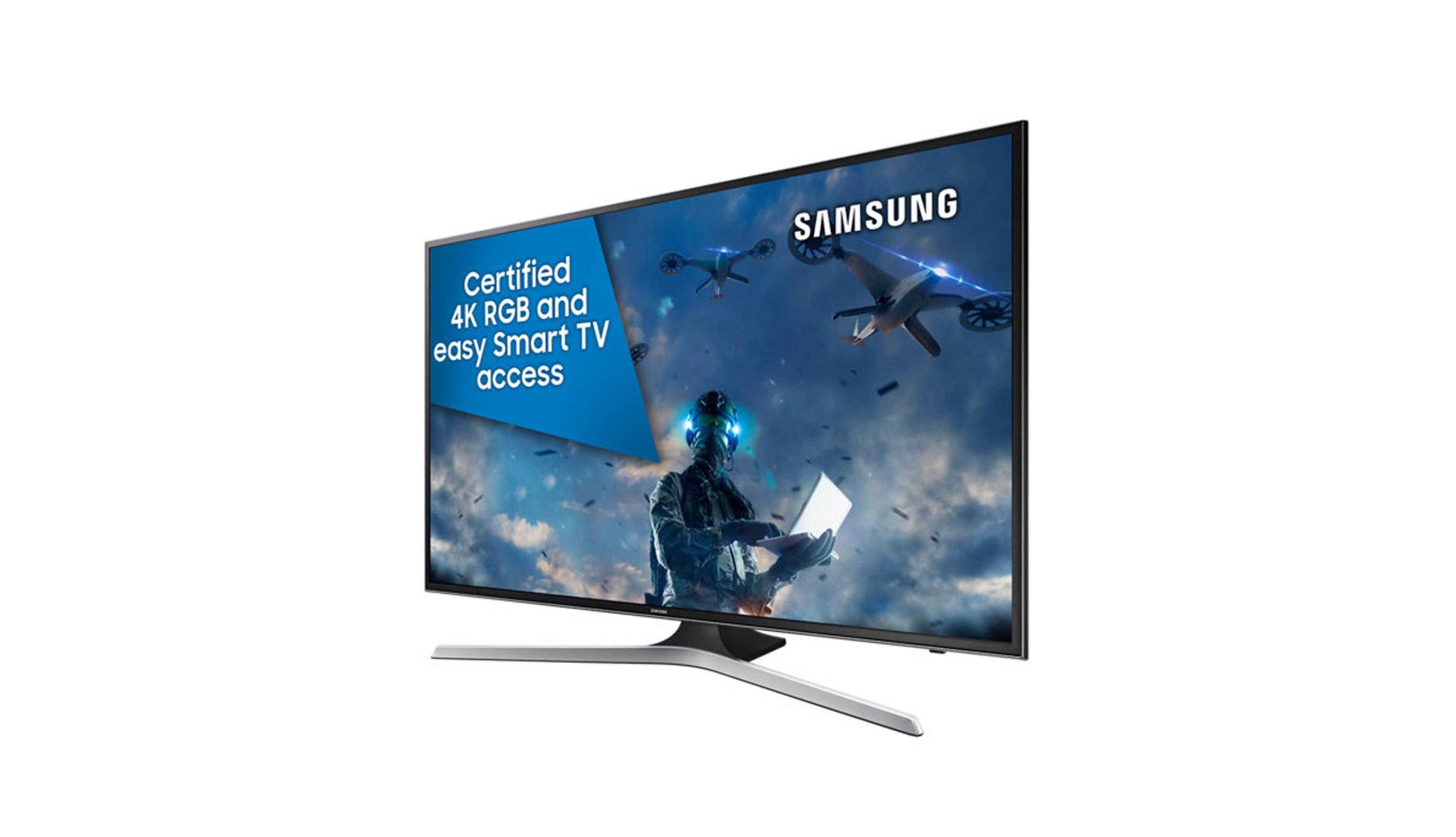 Samsung UA-MU6100 43 Ultra HD 4K Smart TV-Right Side View