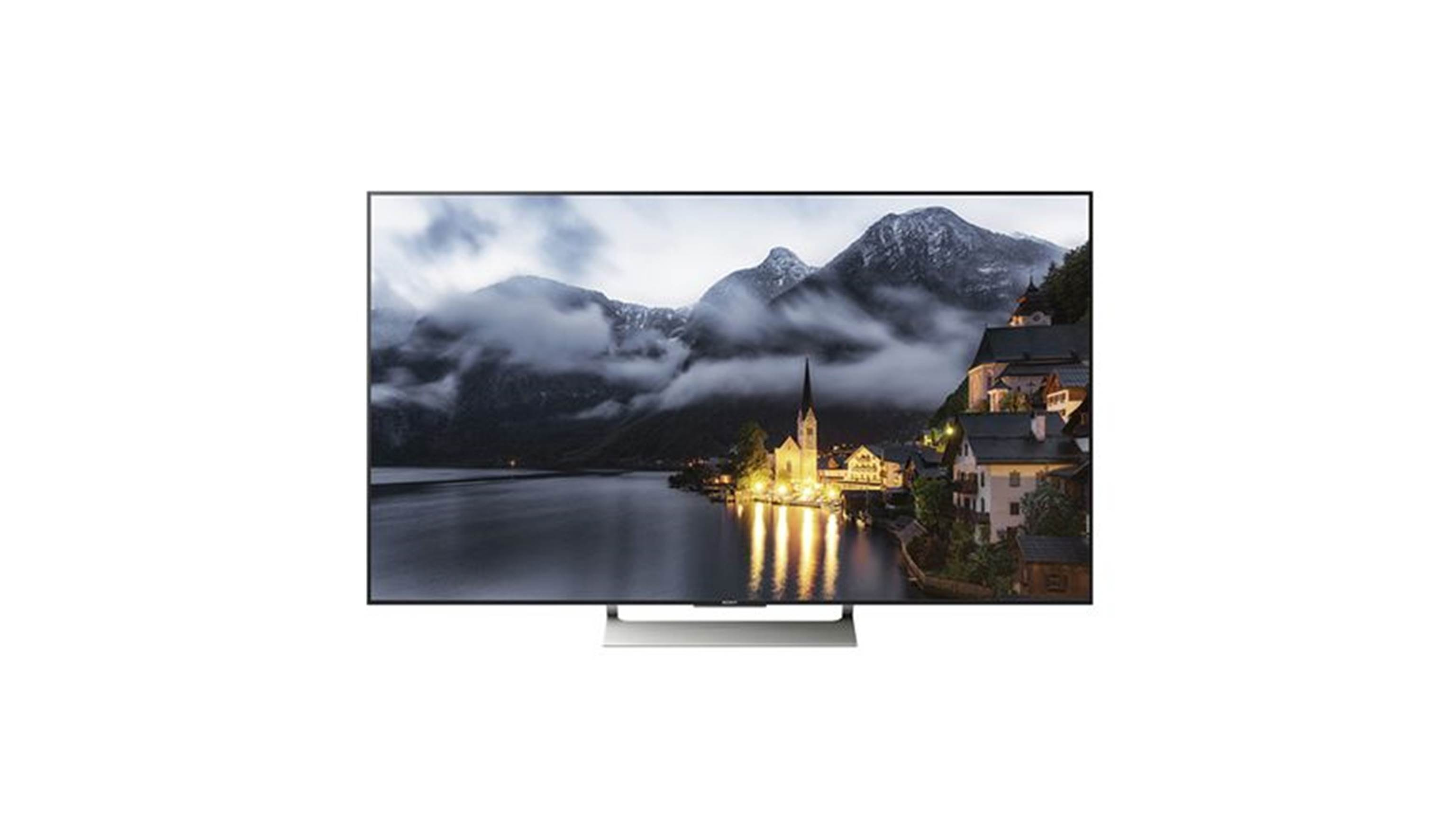 Sony KD-65X9000E 65 Android 4K Ultra HD TV - Lit Front View