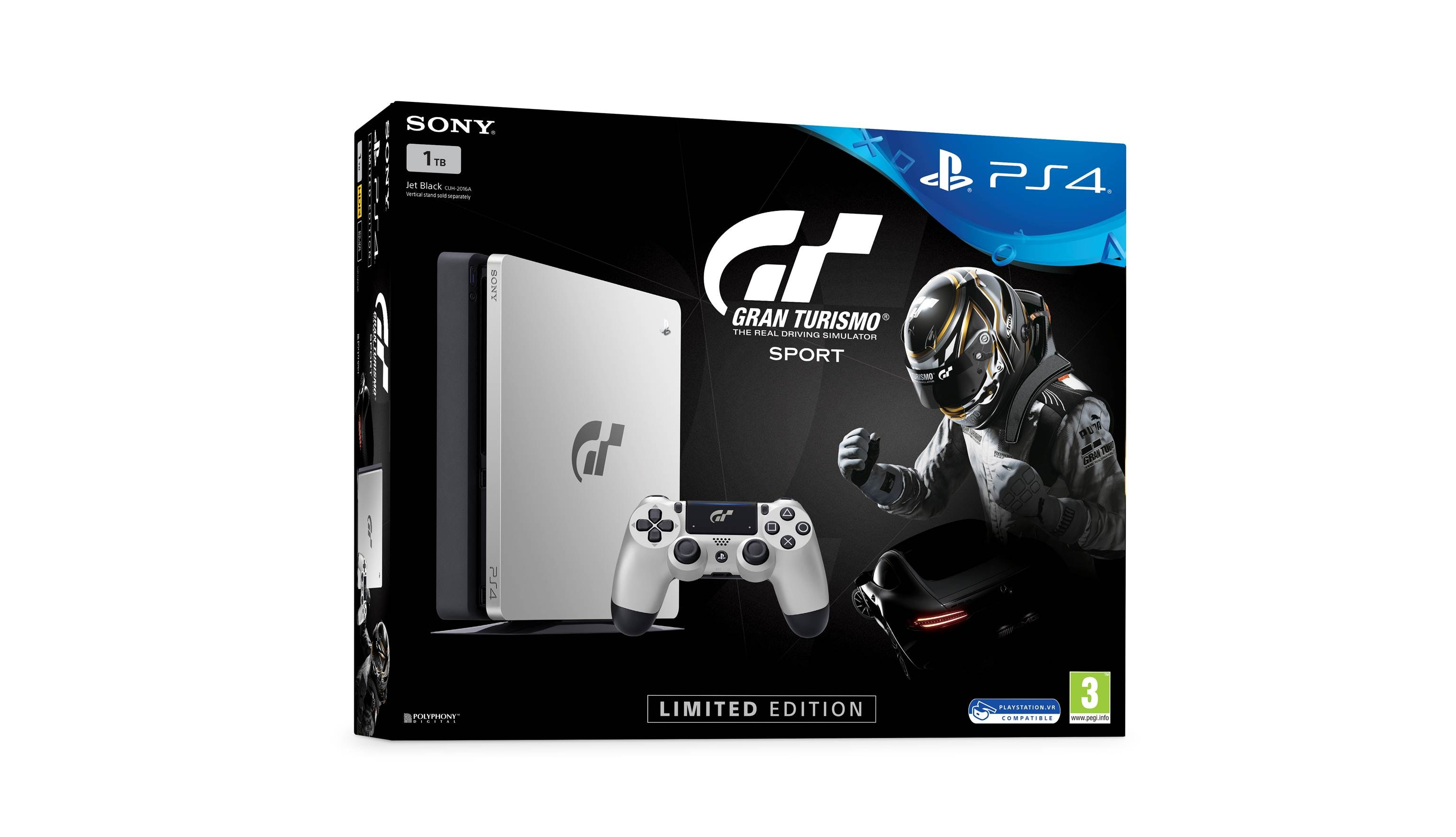 Sony PlayStation 4 1TB GT Sport Limited Edition Console (1)