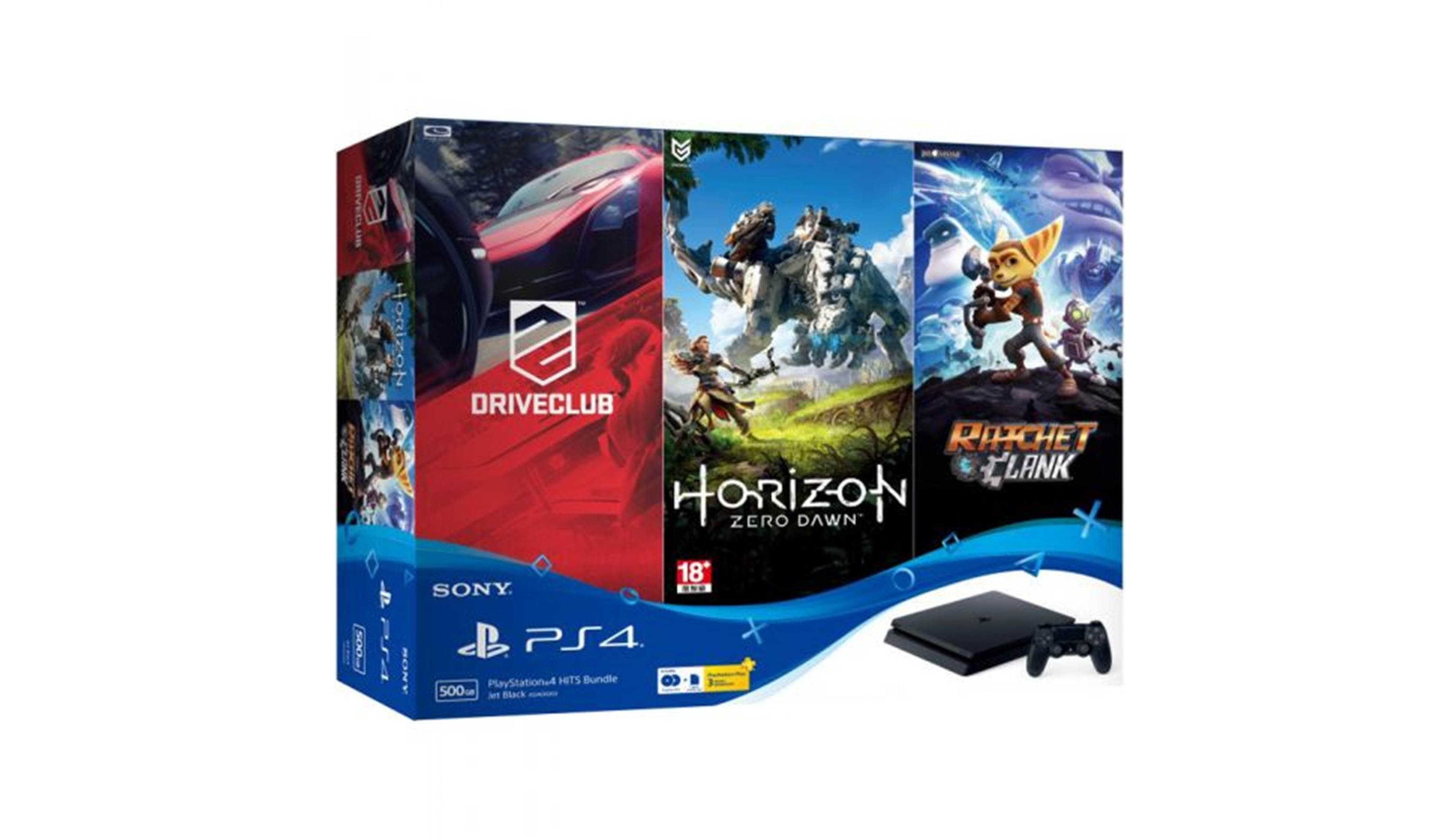 Sony PlayStation 4 500GB Slim Console - ASIA00203 Hit Pack (1)