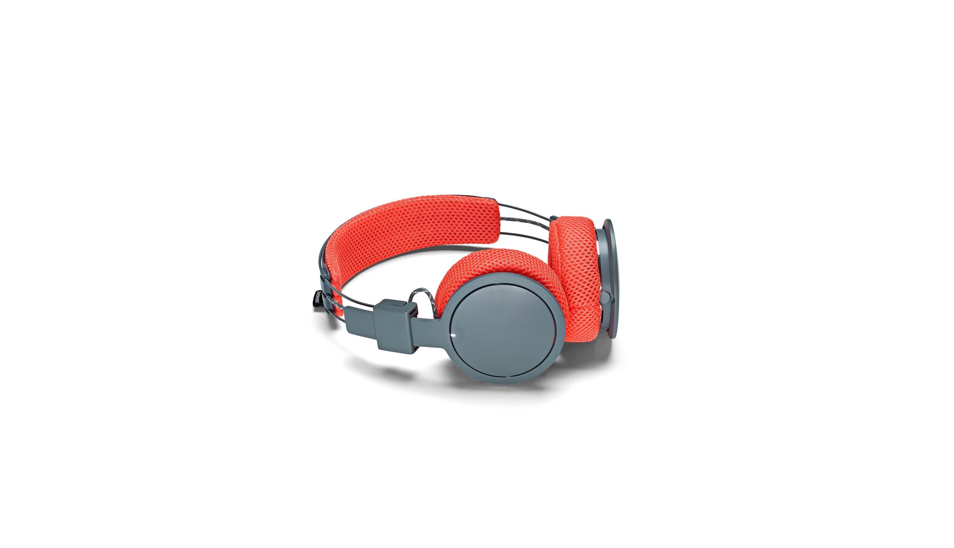 Urbanears Hellas Rush Wireless Headphone - Grey-Red