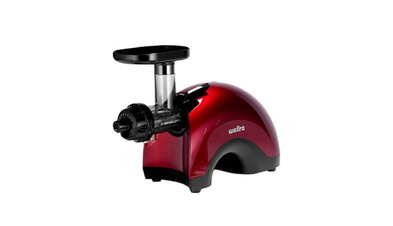 Wellra TGJ 50S Twin Gear Slow Juicer - Red 01
