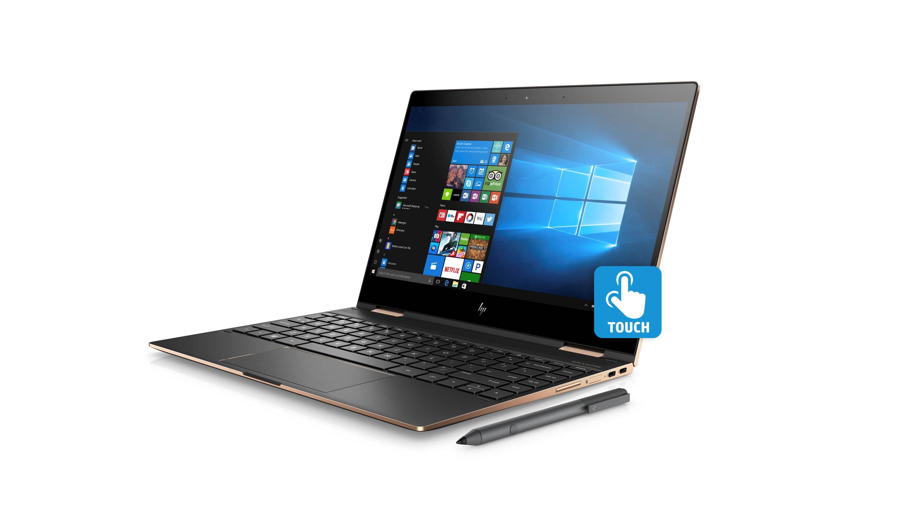 "Adjustable Beds Reviews >> HP Spectre x360 13-AE084TU 13.3"" i7 Convertible Laptop - Rose Gold 