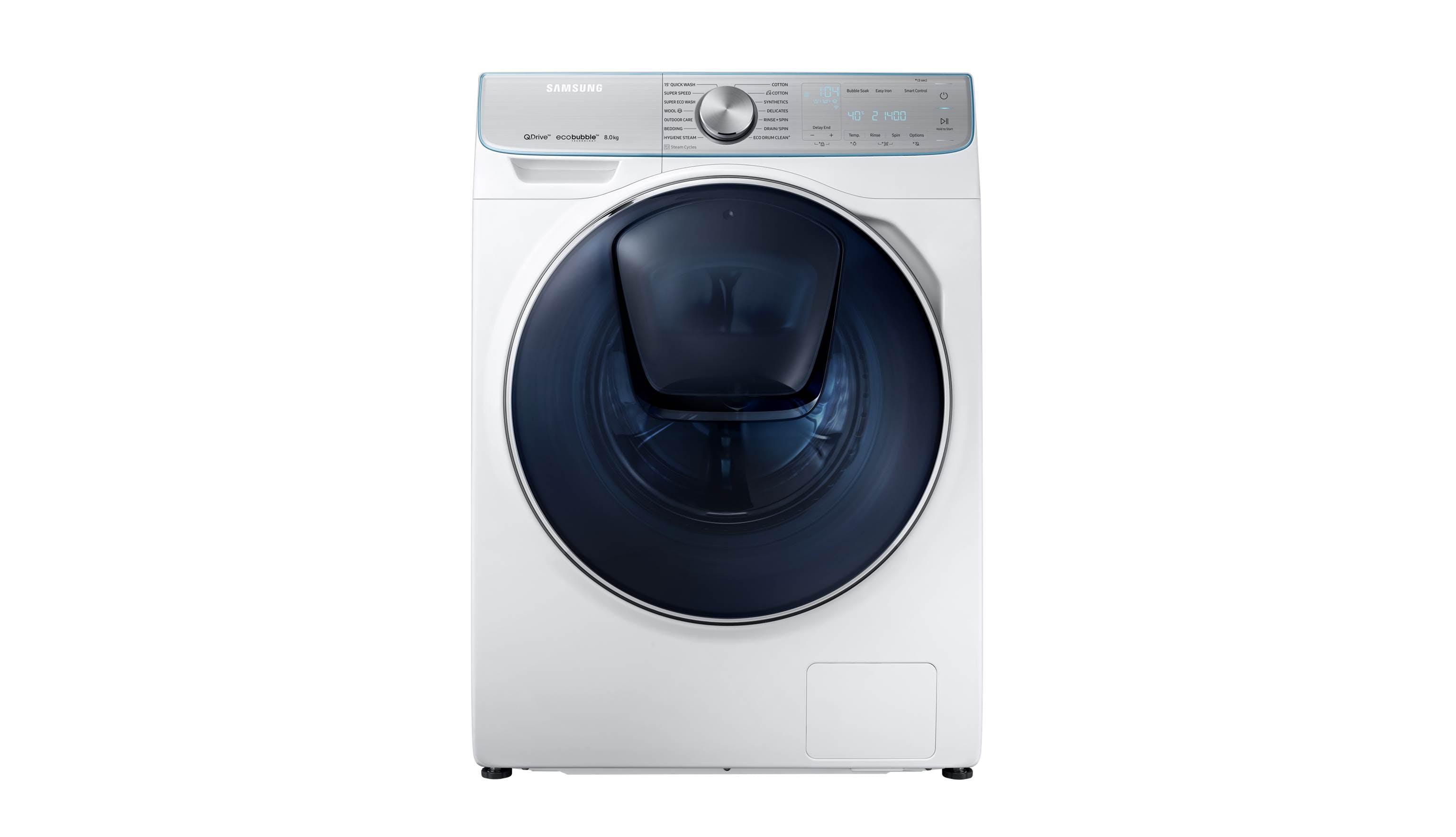 Samsung Ww90m74fnor Sp 9kg Front Load Washing Machine White