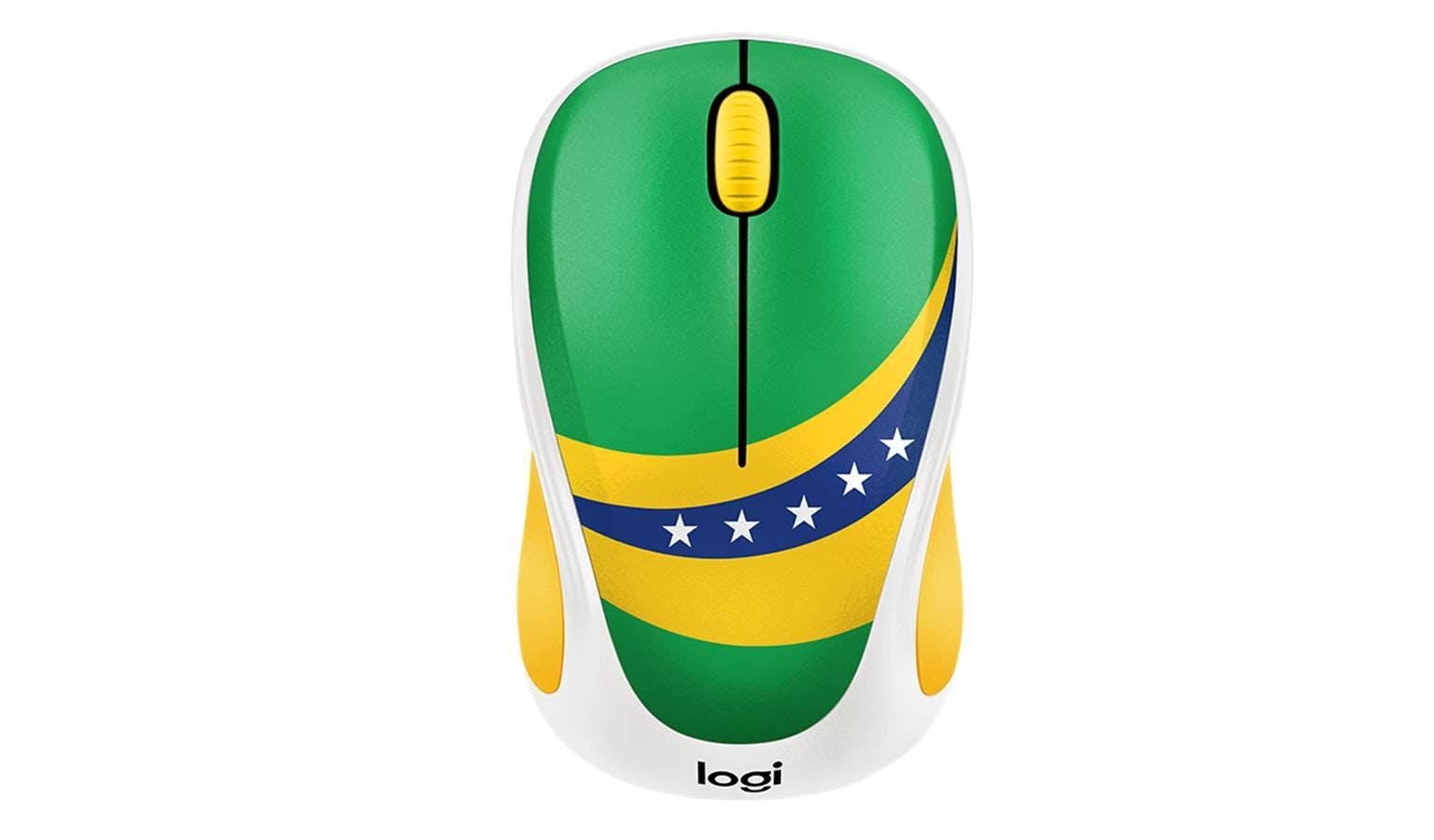 d6add89388b Logitech M238 World Cup Themed Wireless Mouse - Brazil 910-005406 | Harvey  Norman Singapore