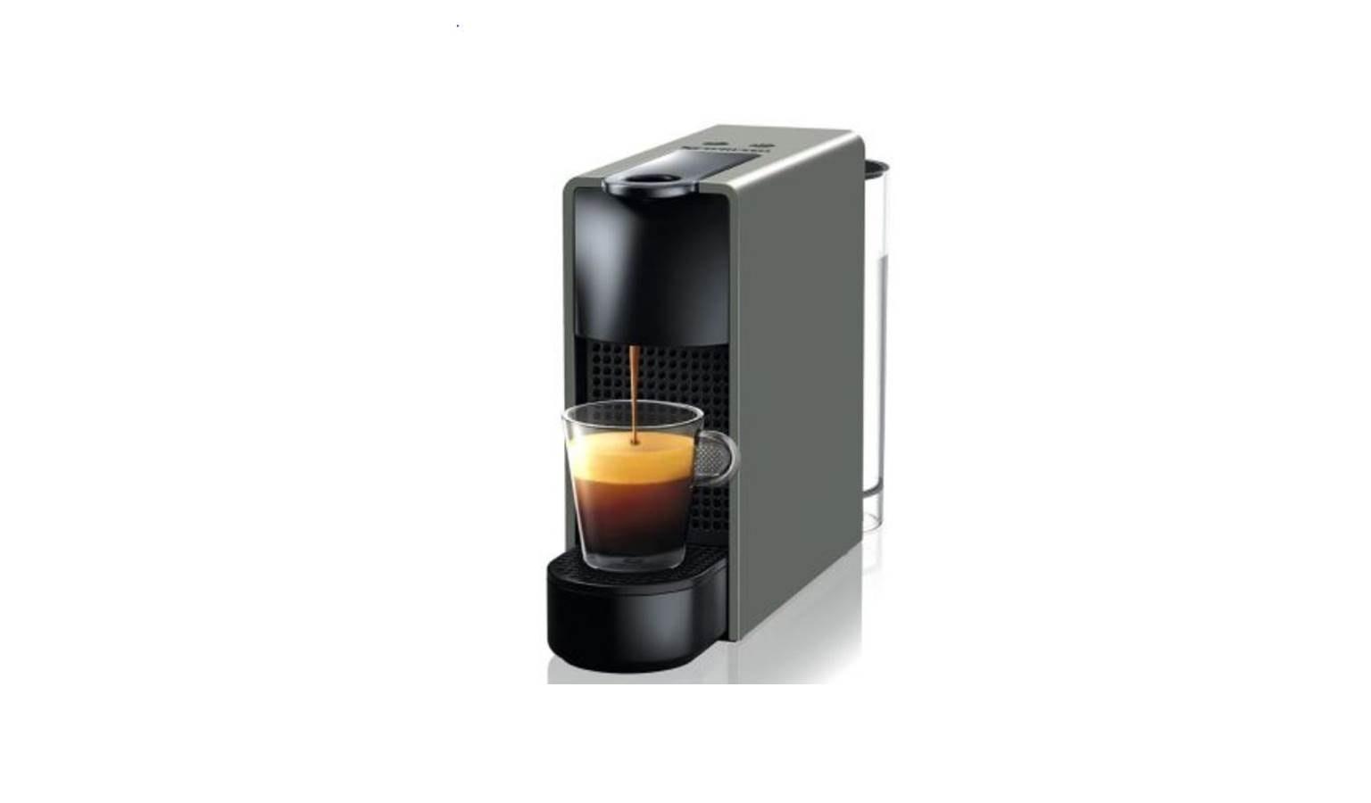 Nespresso C30 Essenza Mini Coffee Machine Grey Harvey Norman