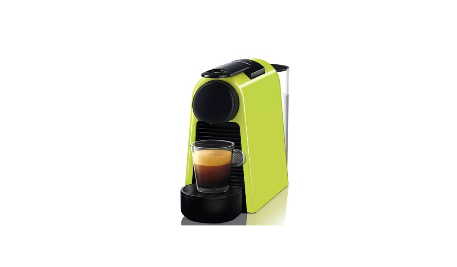 Nespresso D30 Essenza Mini Coffee Machine Green Harvey Norman