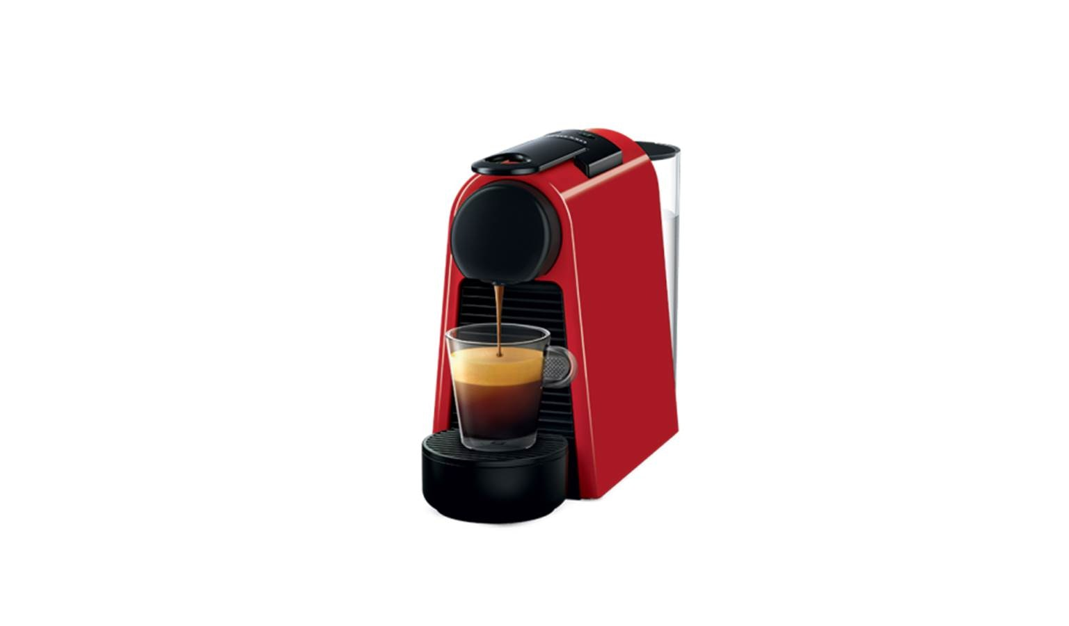 Nespresso D30 Essenza Mini Coffee Machine Red Harvey Norman