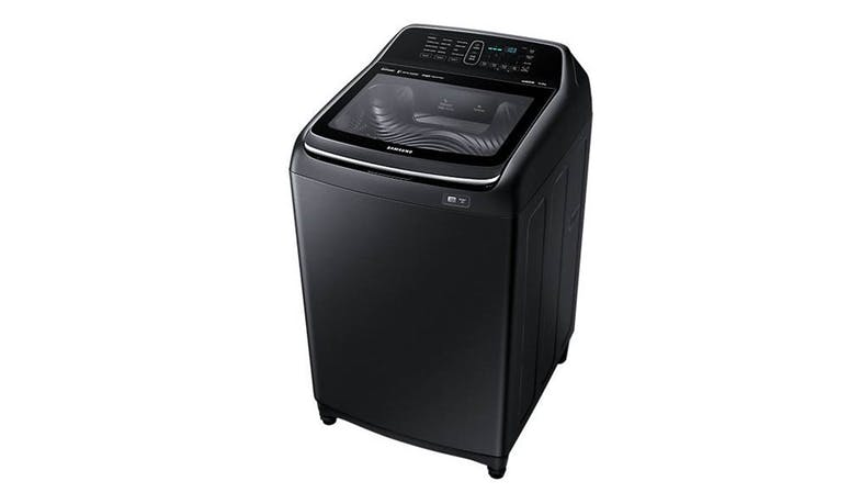 Samsung WA14N6780CV/SP Active DualWash 14kg Top Load Washer (Side View)