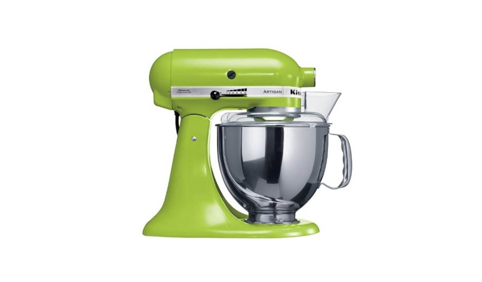 Kitchenaid KSM150 4.8L Tilt Head Stand Mixer   Green Apple
