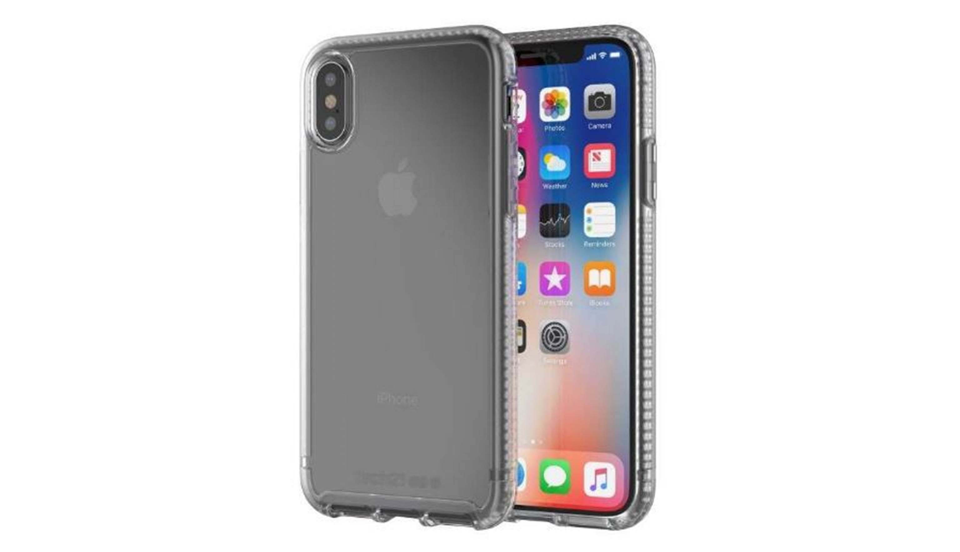 official photos cabe8 9c700 Tech21 iPhone X Pure Clear Case