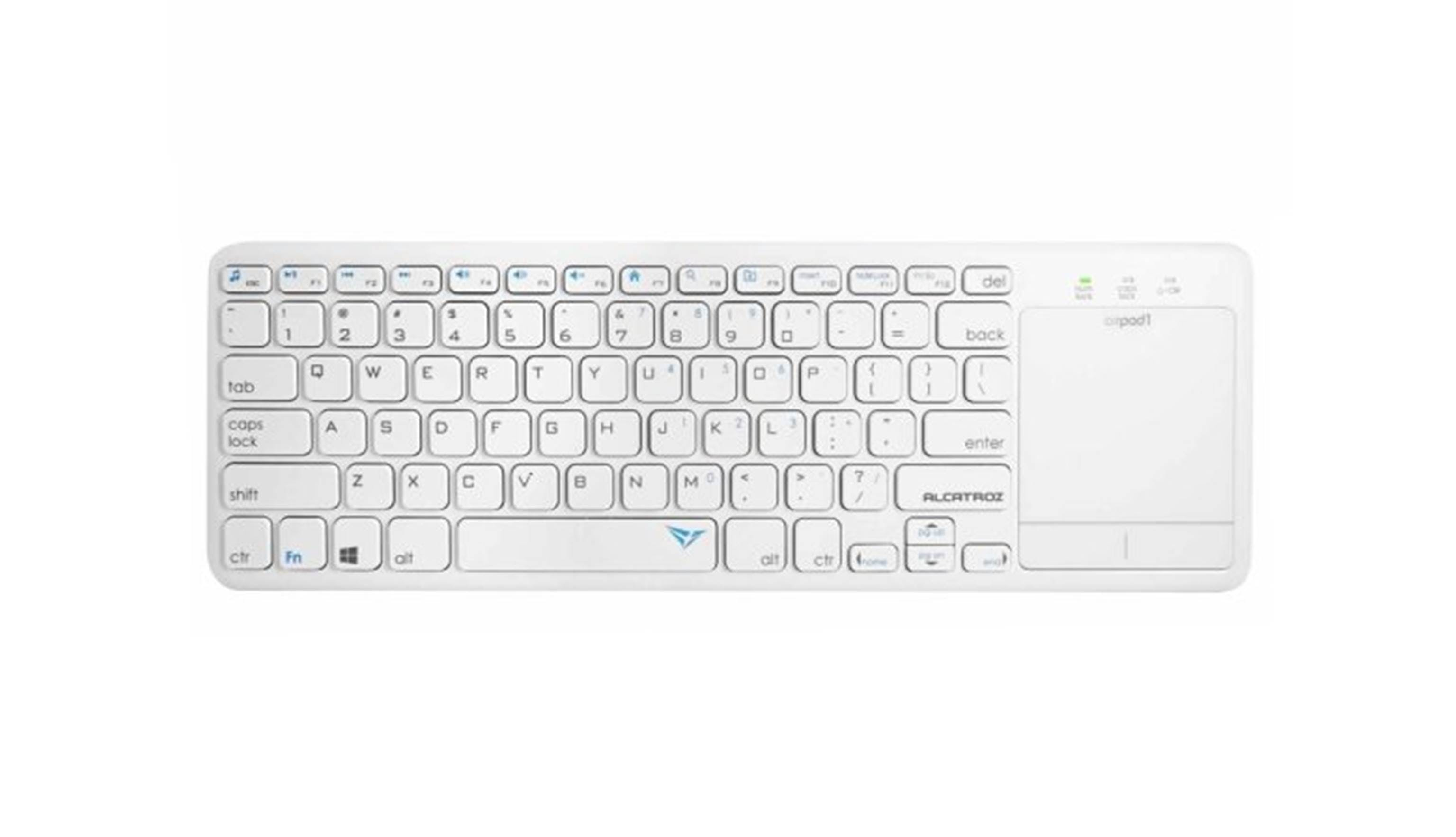 Alcatroz AirPad 1 Keyboard - White