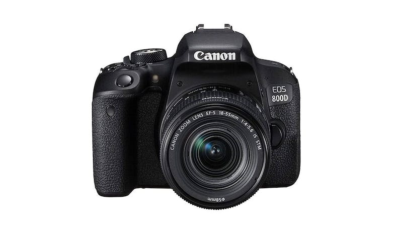 Canon EOS-800D DSLR Camera with 18-55mm Lens Kit - Front