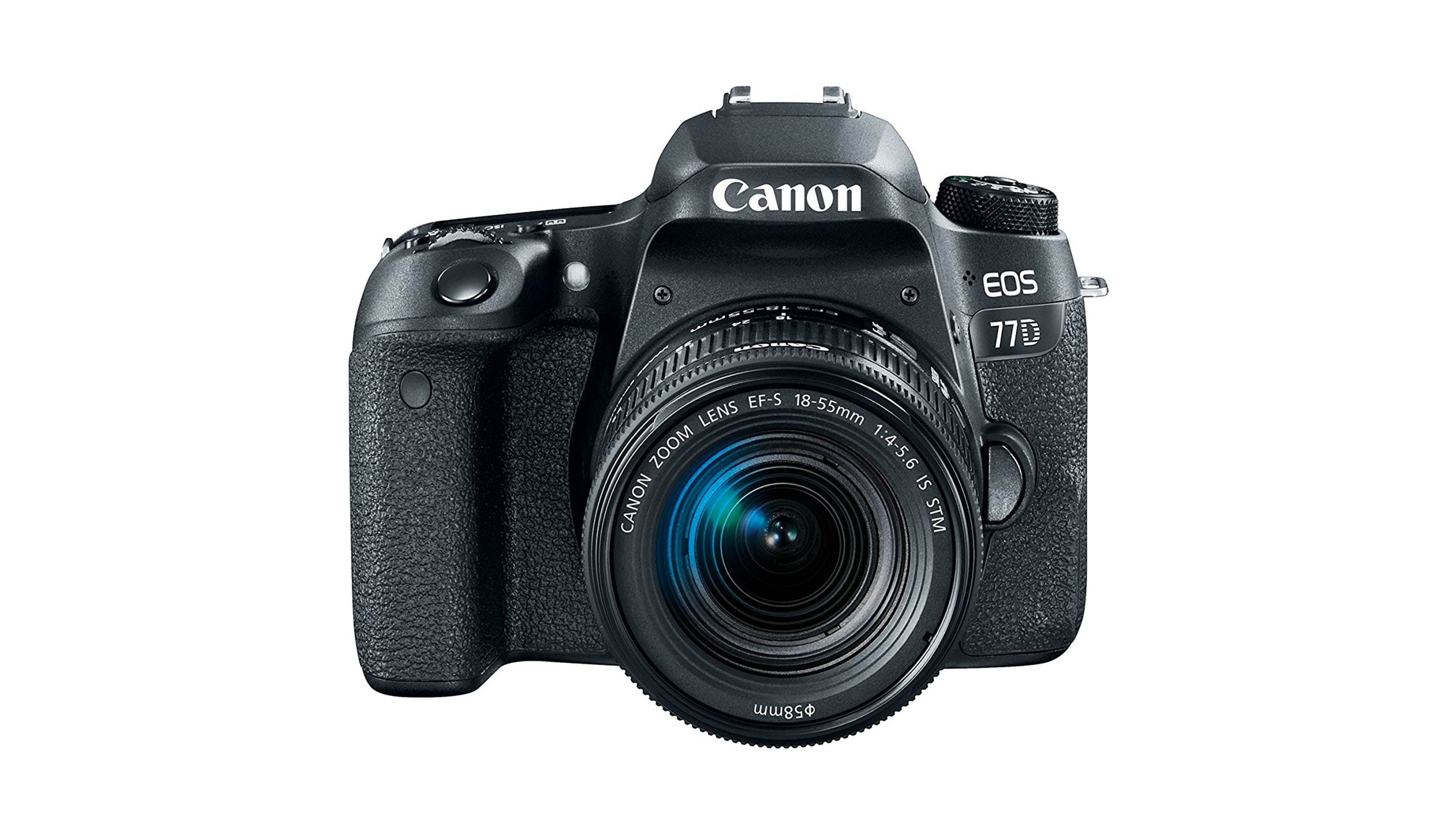 Canon EOS 77D DSLR with 18-55 IS STM Kit