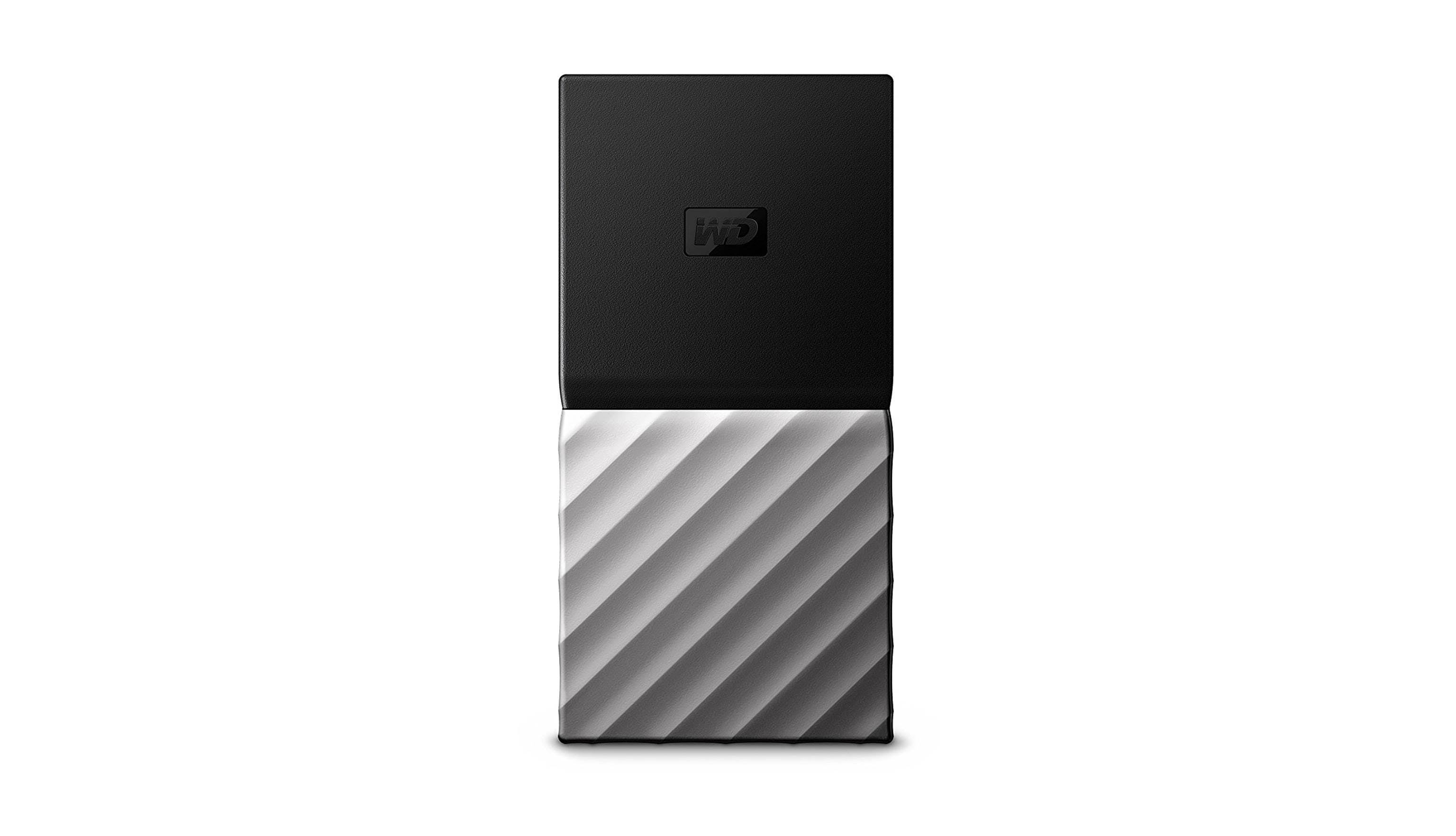 Wd Wdbk3e0010psl My Passport 1tb Ssd Portable Storage Harvey Silver