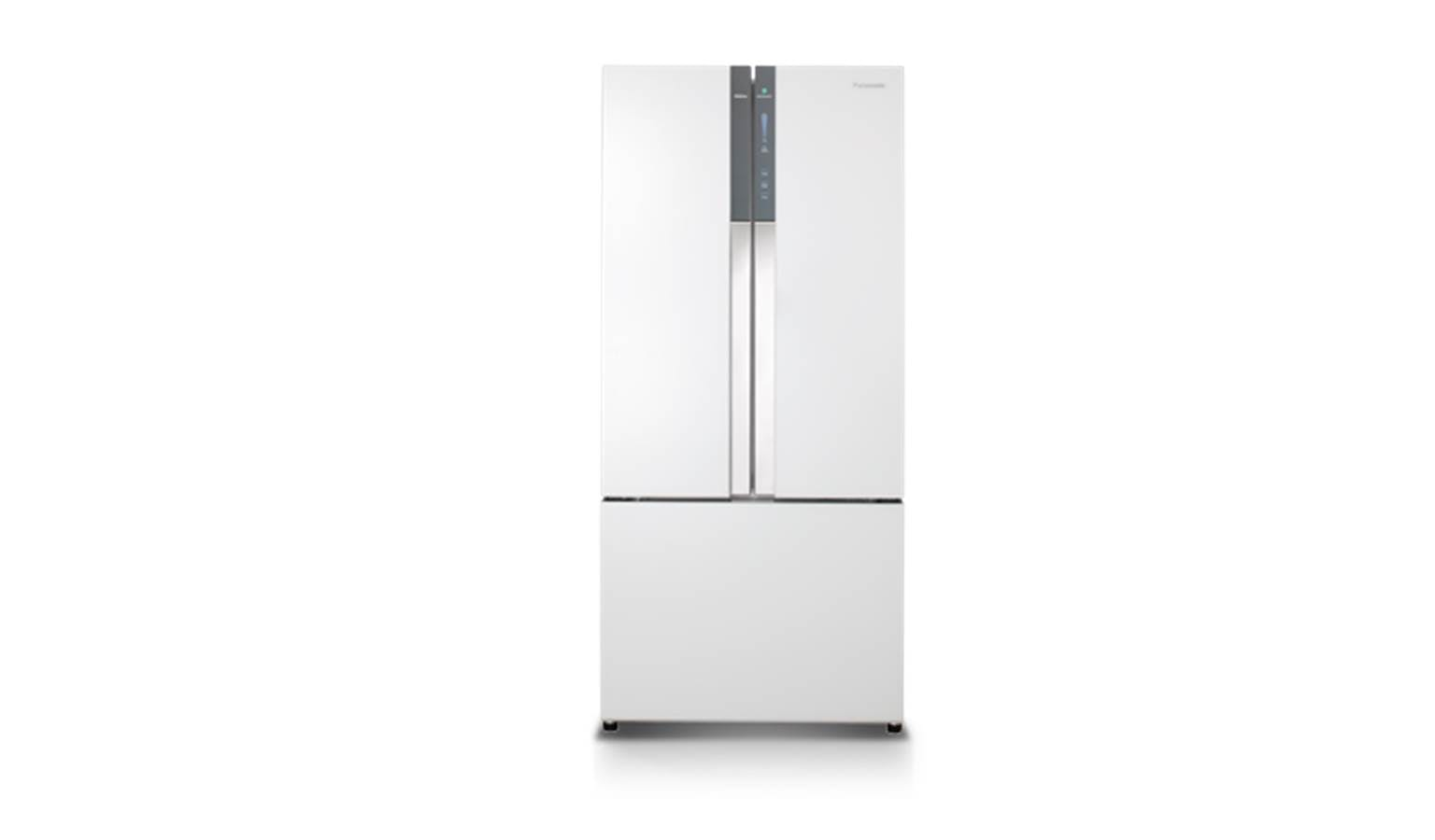 Panasonic Nr Cy558gwsg French Door Design Refrigerator White