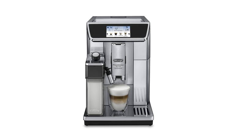 DeLonghi ECAM650.85.MS PrimaDonna Elite Experience Coffee Machine - Front