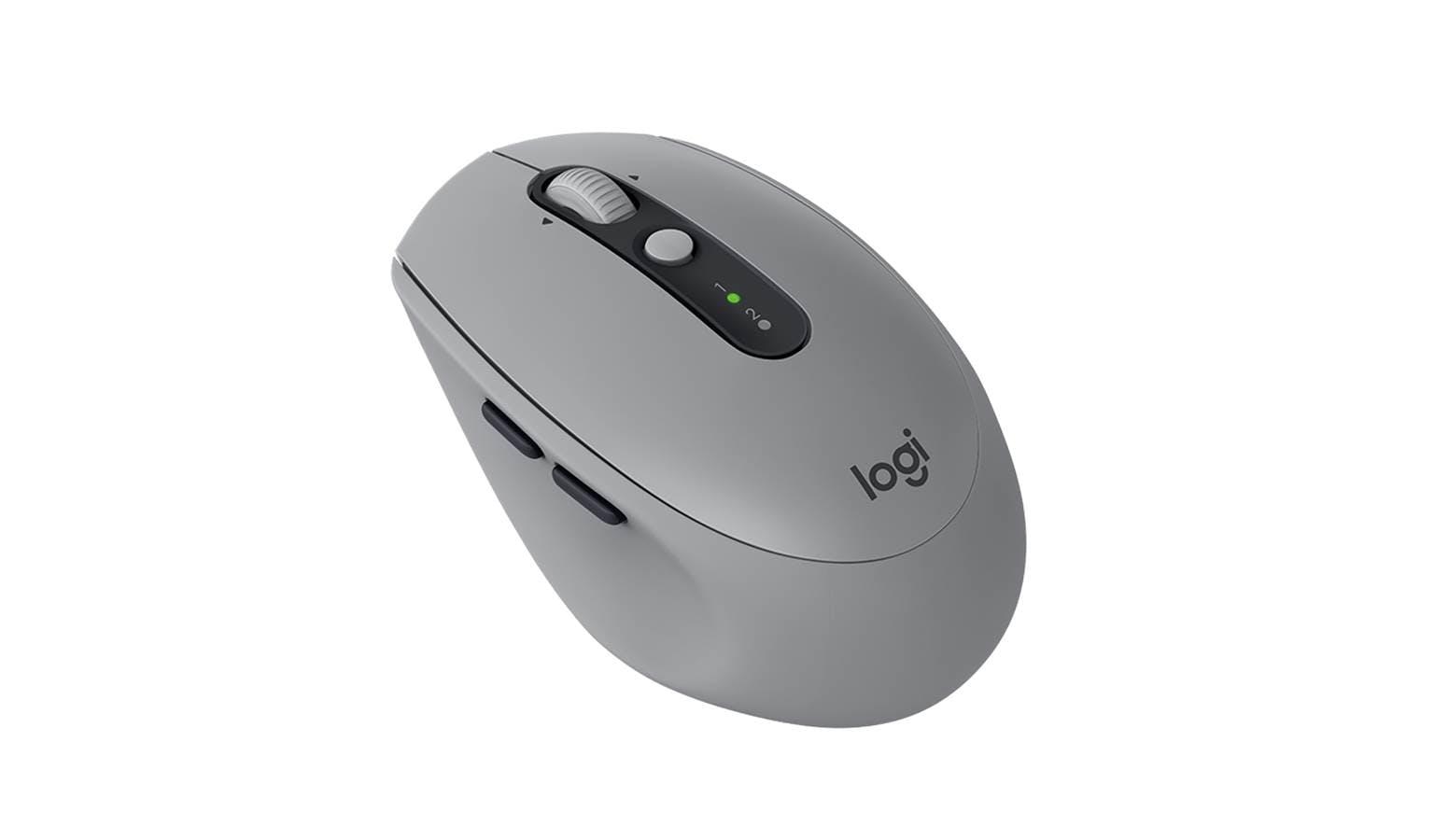 cad868668d6 Logitech M590 (910-005204) Multi-Device Silent Wireless Mouse - Mid Grey  Tonal | Harvey Norman Singapore