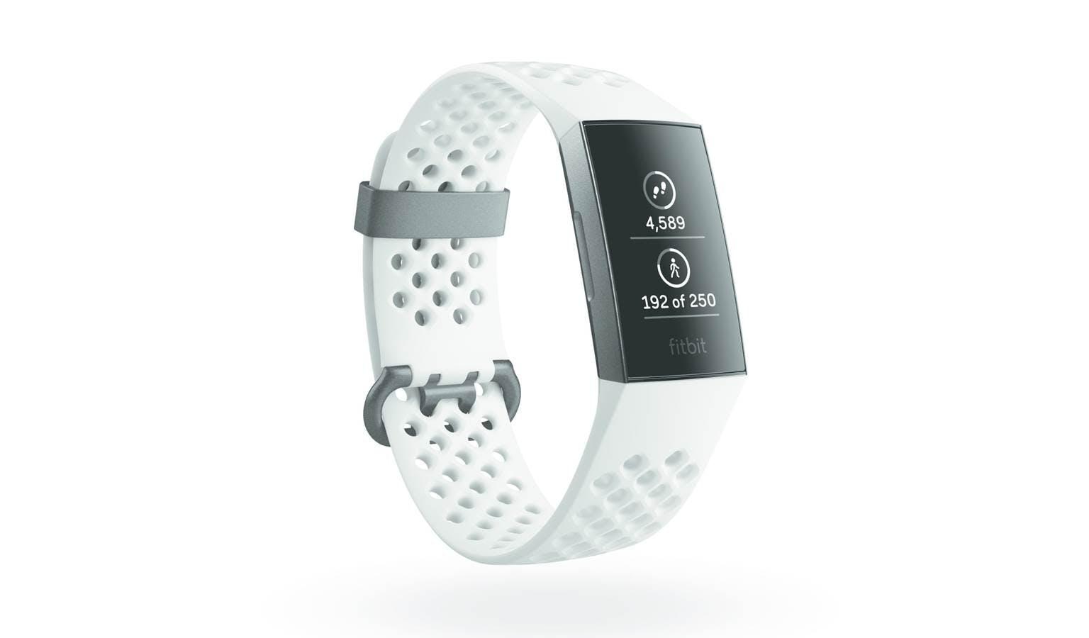 Fitbit Charge 3 - Graphite Aluminium/Frost White