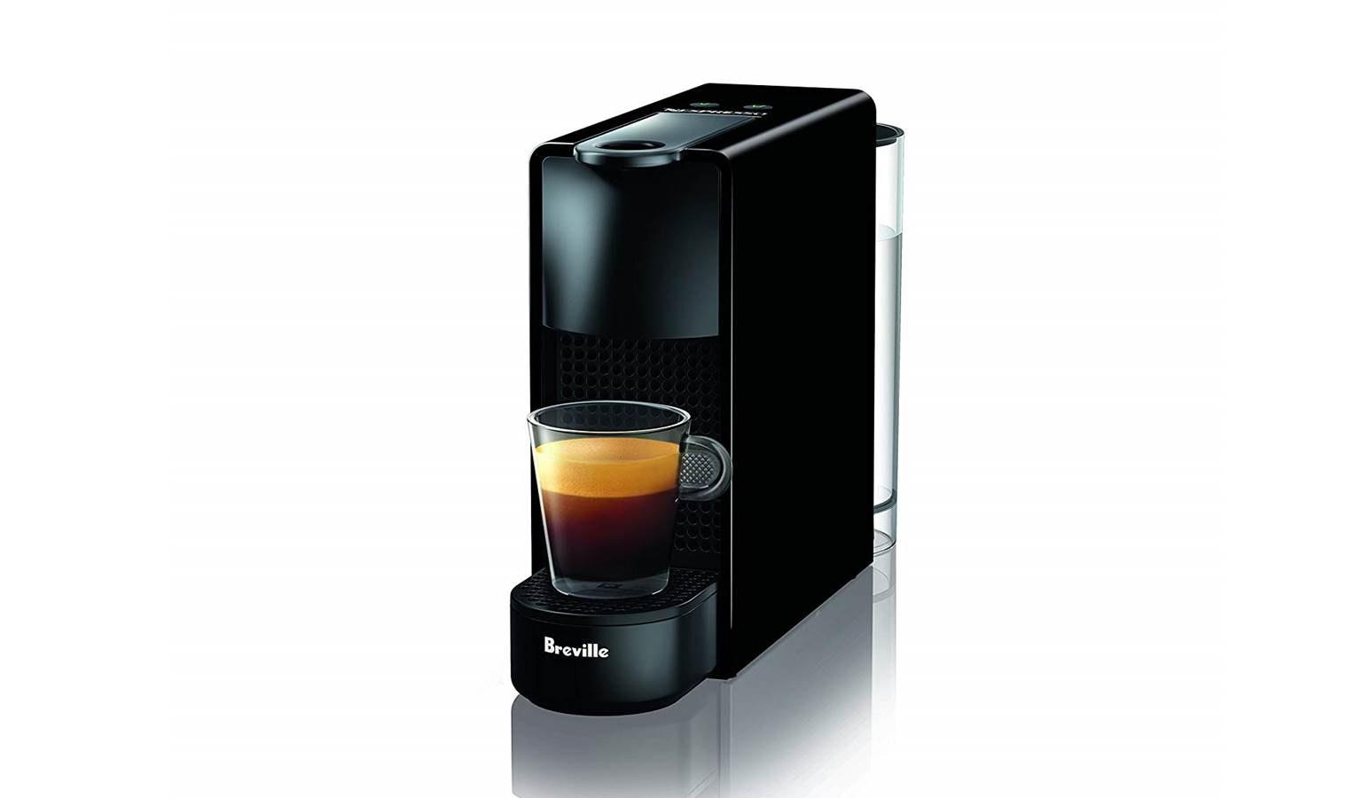 Nespresso Essenza Mini Coffee Machine Matte Black Harvey Norman