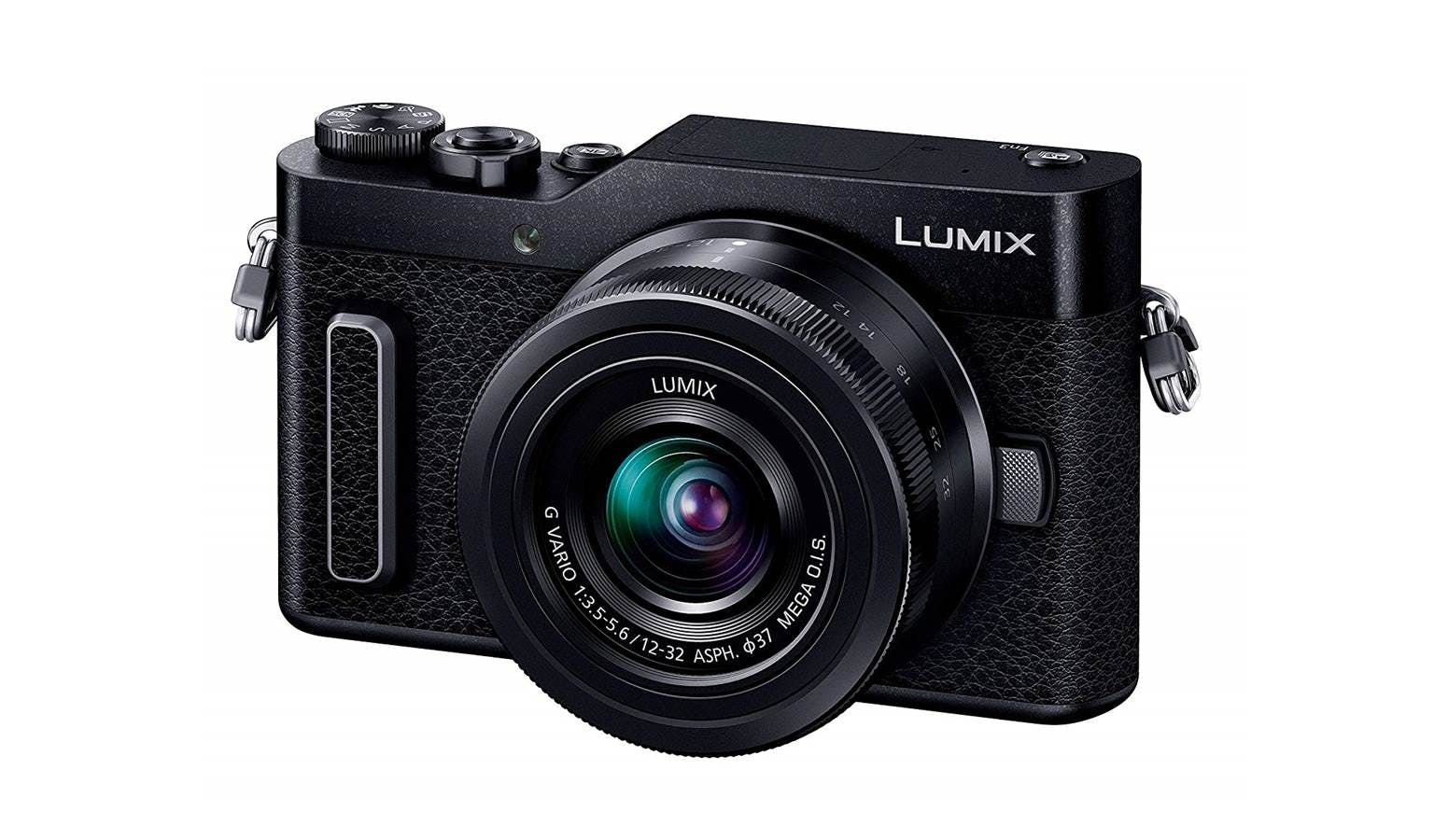 Panasonic Lumix DC-GF10 Mirrorless Camera Double Lens Kit (12-32 mm +  35-100 mm) - Black