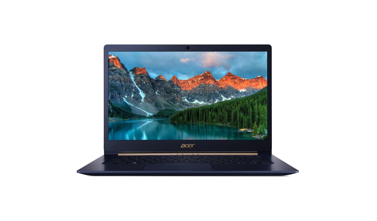 "Acer Swift 5 SF514-53T-71X2 14"" i7-8565U W10 FHD Laptop - Blue 01"
