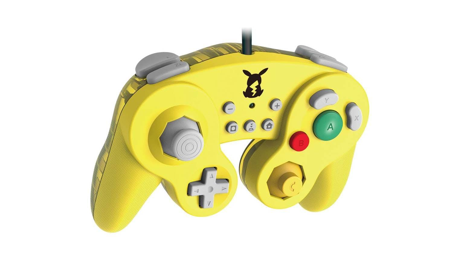 HORI Battle Pad GameCube Controller for Nintendo Switch - Pikachu