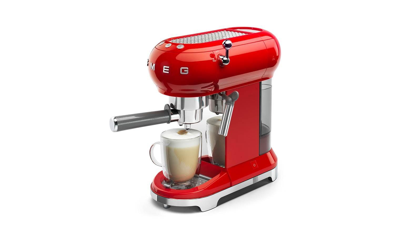 Smeg 50's Retro Style Aesthetic Espresso Coffee Machine