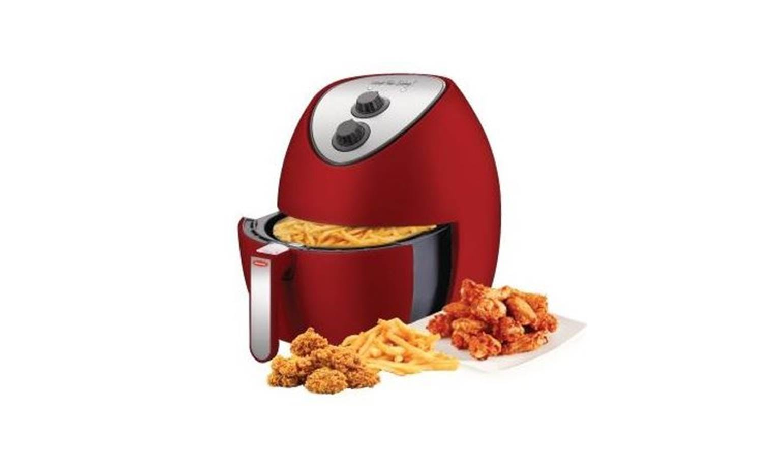 EuropAce EAF5321S 3.2L Air Fryer - Red