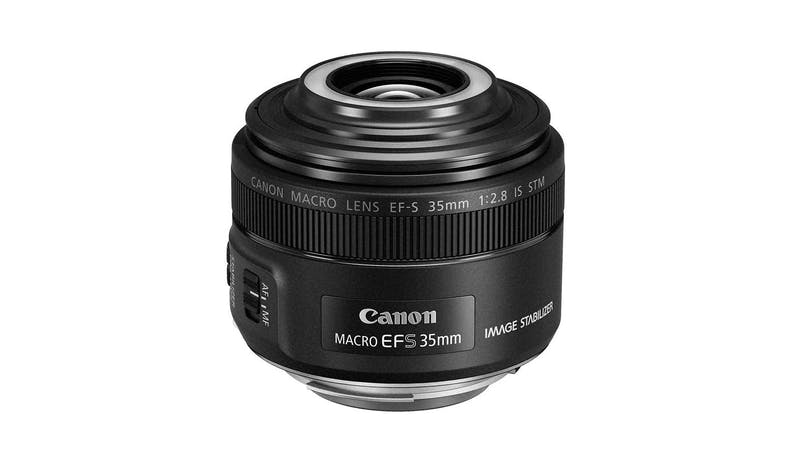 Canon EF-S 35 f/2.8 Macro IS STM Camera Lens (View 2)