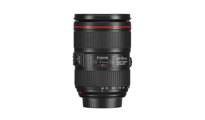 Canon EF24-105 F/4L IS II USM Lens (Front)