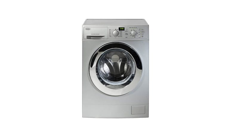 EuropAce EFW8100 10kg Front Load Washing Machine - Silver-01