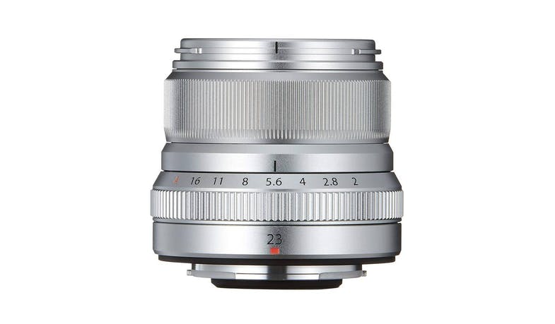 Fujifilm XF 23mm F2 R WR Compact Wide-Angle Lens - Silver-01