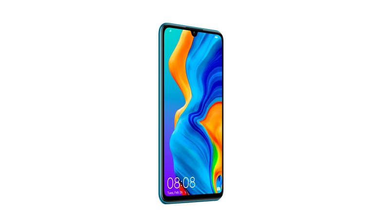 Huawei P30 Lite_Front Side View(Blue)