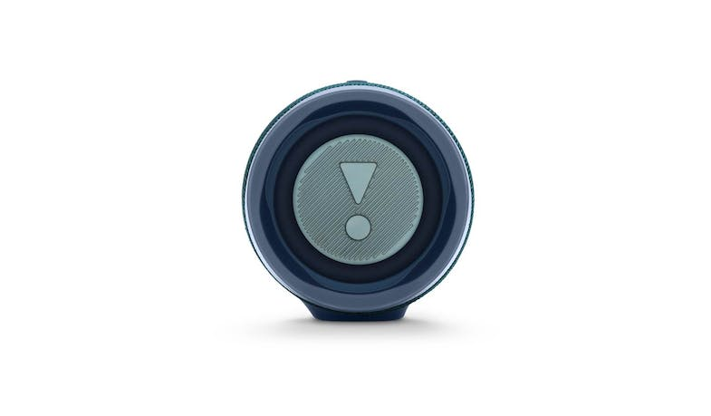 JBL Charge 4 Portable Bluetooth Speaker - Blue (Side)