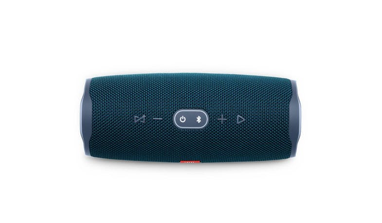 JBL Charge 4 Portable Bluetooth Speaker - Blue (Top)