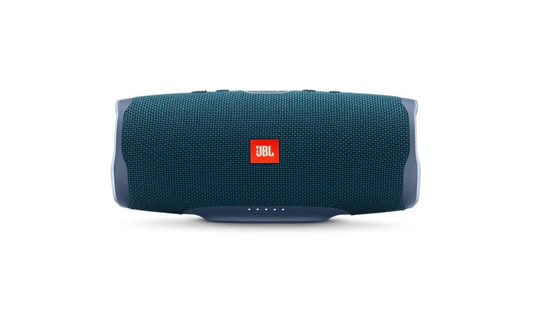 JBL Charge 4 Portable Bluetooth Speaker - Blue (Front)