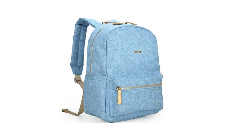 "Agva LTB351 Denim 13.3"" Stella Backpack - Blue - 01"