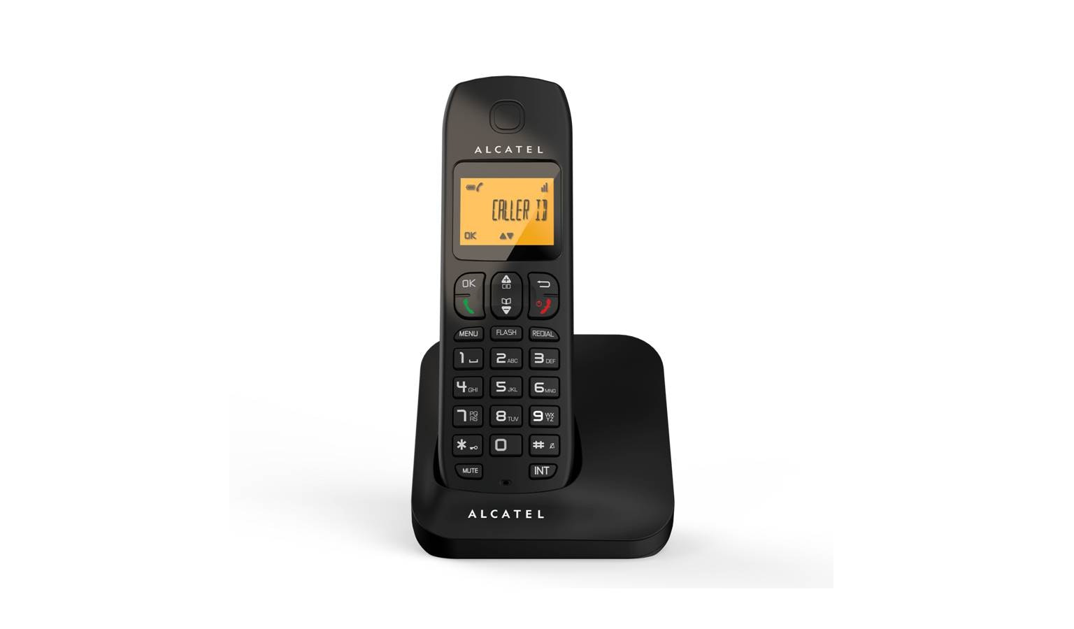Alcatel E130 Solo DECT Phone - Black - 01