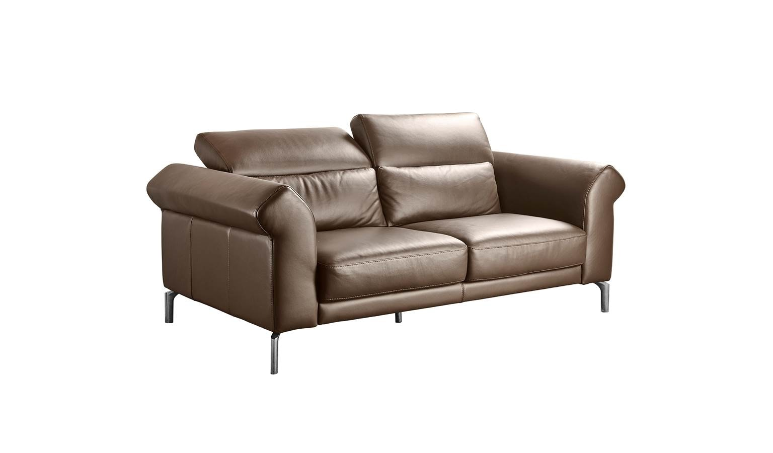 Brigida Italian Full Leather 2.5-Seater Sofa