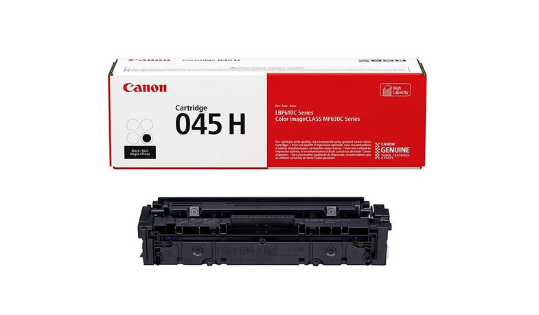 Canon 045H Toner Cartridge - Black - 01