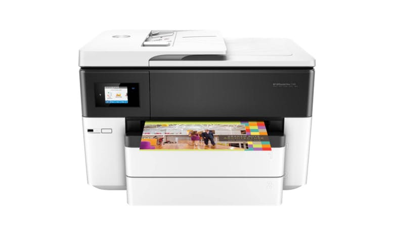 HP OfficeJet Pro G5J38A 7740 Wide Format AIO Printer ​- White-01