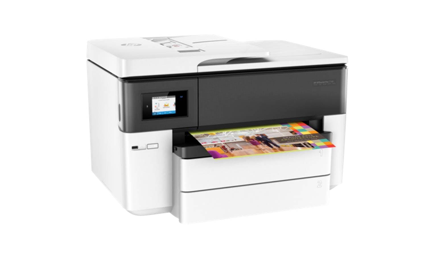 HP OfficeJet Pro G5J38A 7740 Wide Format AIO Printer - White