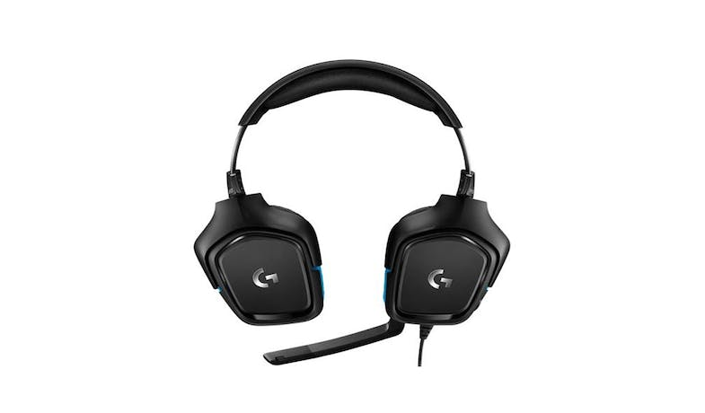 Logitech G431 7.1 Gaming Headset - Black-02