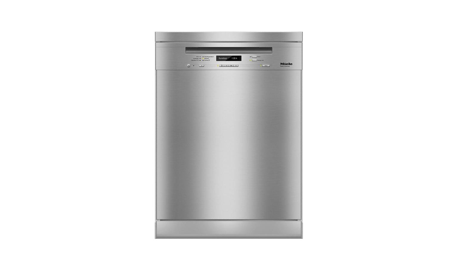 Miele G 6730 SC Freestanding Dishwasher - Clean Steel - 01