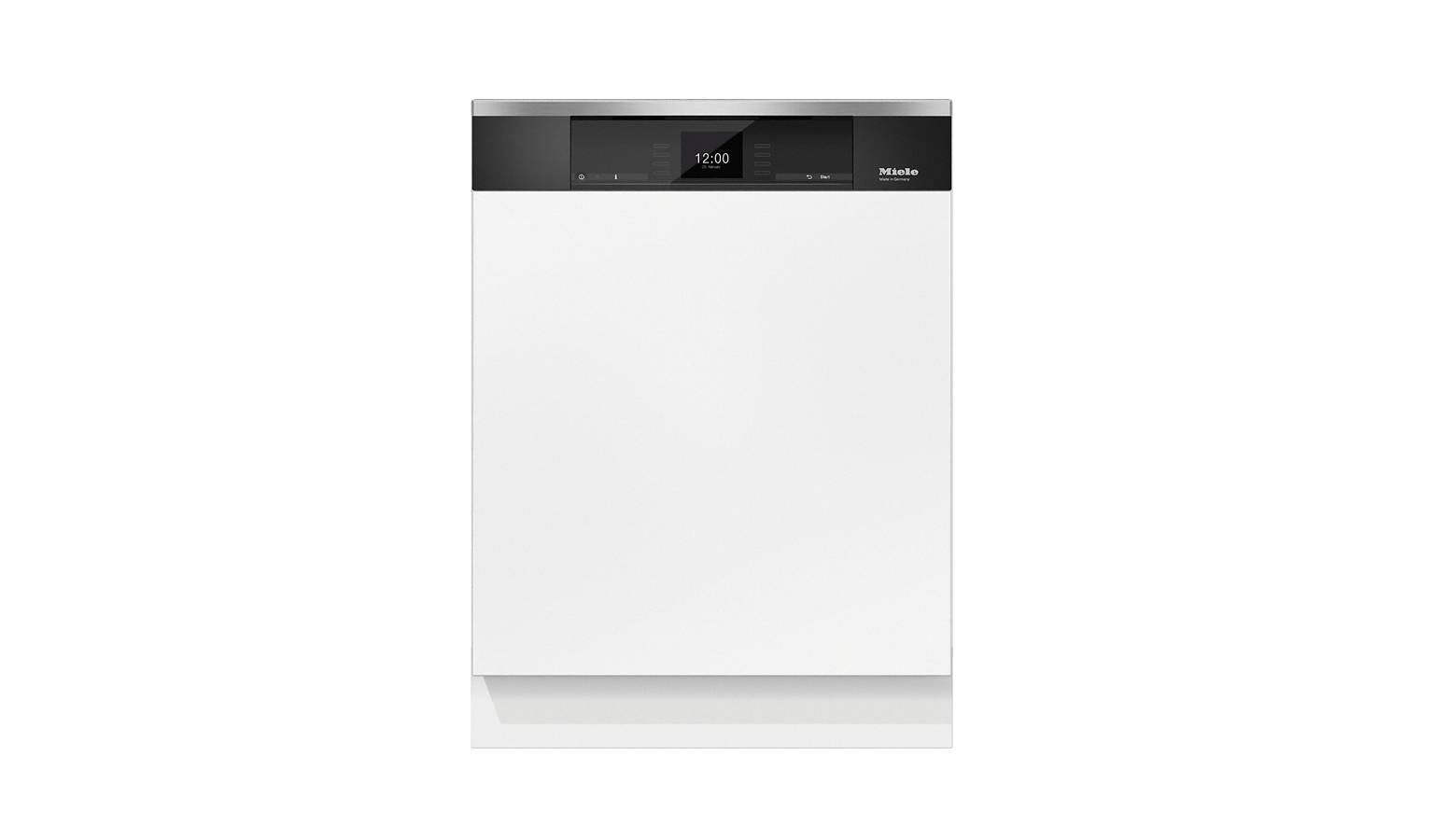 Miele G 6921 SCi Semi-integrated Dishwasher - Clean Steel - 01