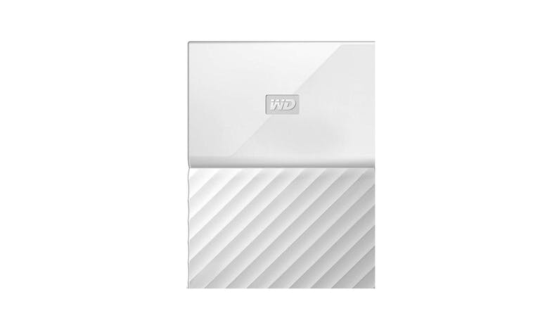 Western Digital My Passport 4 TB HDD - White-01