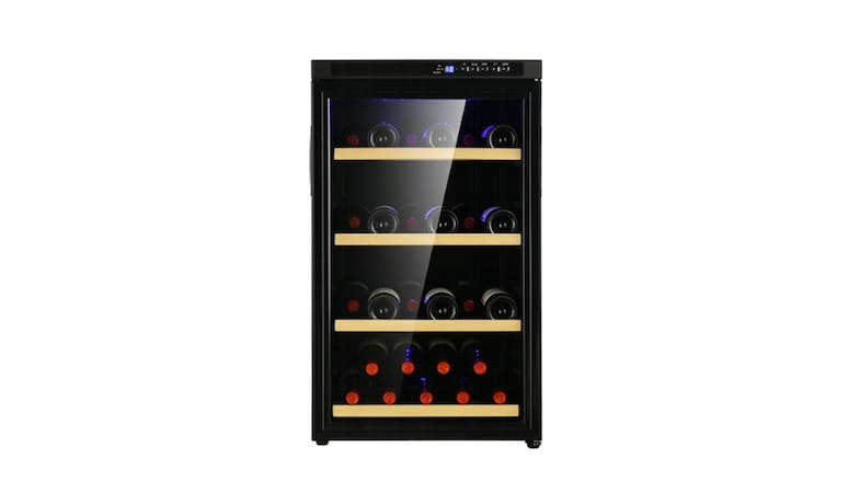 Chateau CW39SNS Wine Cellar - Black 01