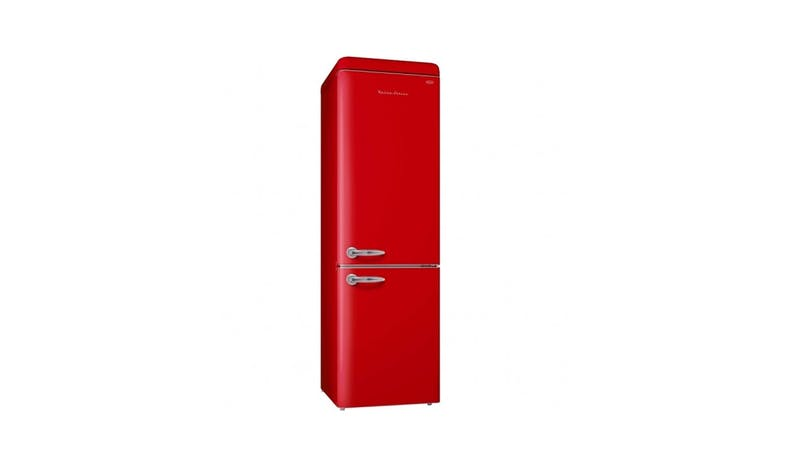 EuropAce ER9360S 359L 2 DOOR No Frost Fridge - Cherry Red - 01