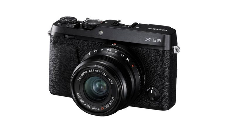 Fujifilm X-E3 Mirrorless Digital Camera 23mm Lens -Black (Main)